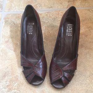 Nickels brown heels